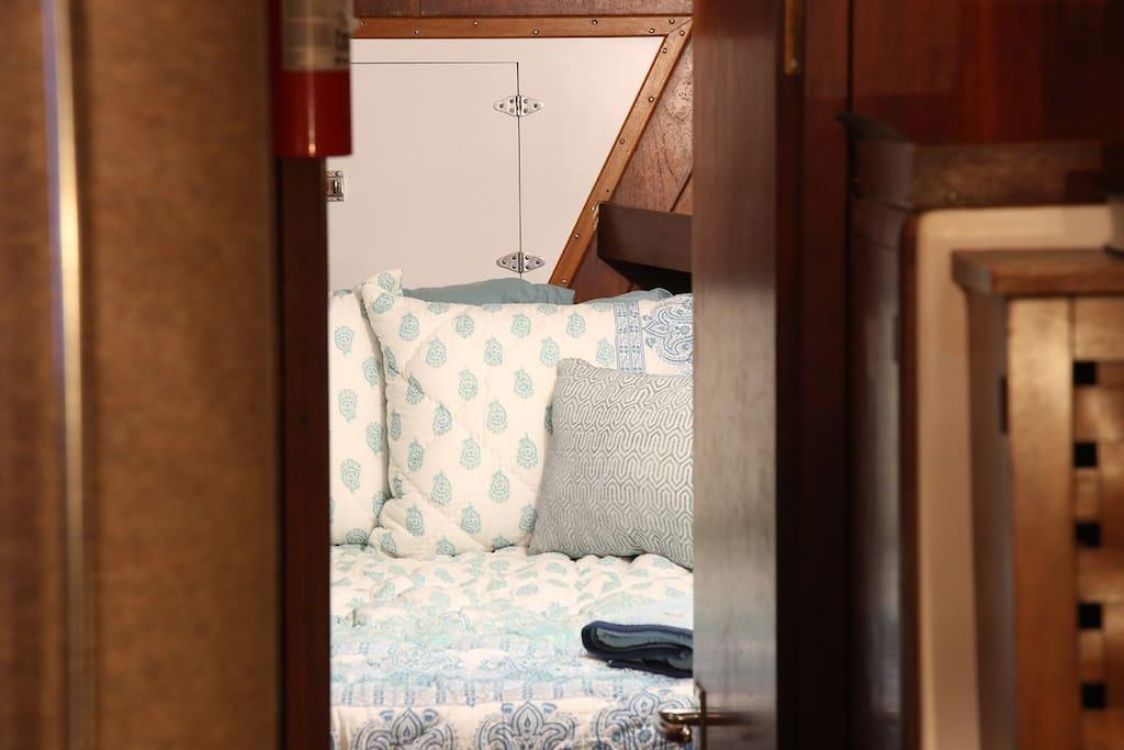 Three private staterooms