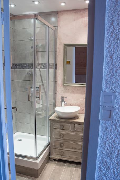 Salle de bain esprit montagne