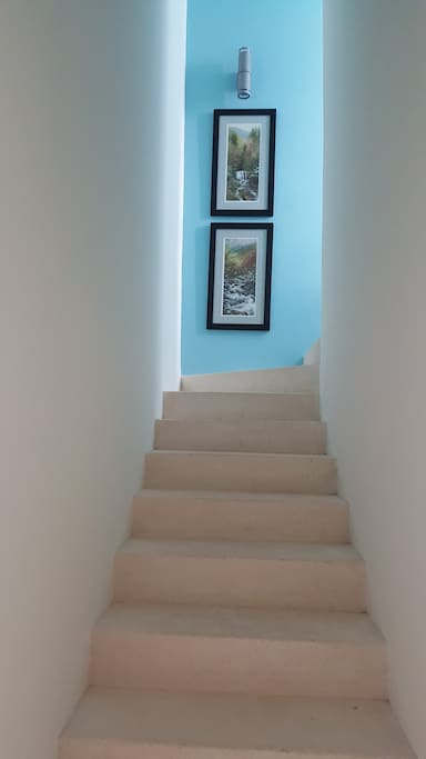 You have heard of The Stairway to Heaven. You may think you have arrived in this beautiful condo!