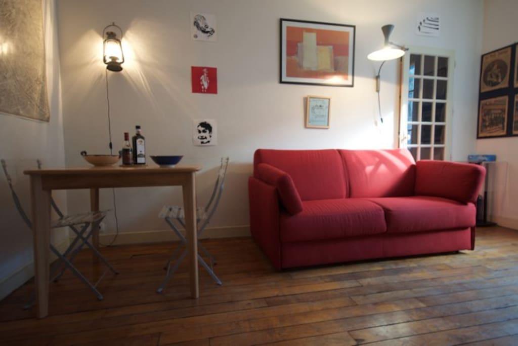 Living room (14m2)