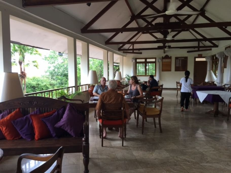 Our dinning room and lounge offer unique views of Benoa Harbour and Bali's highest mountain Agung.