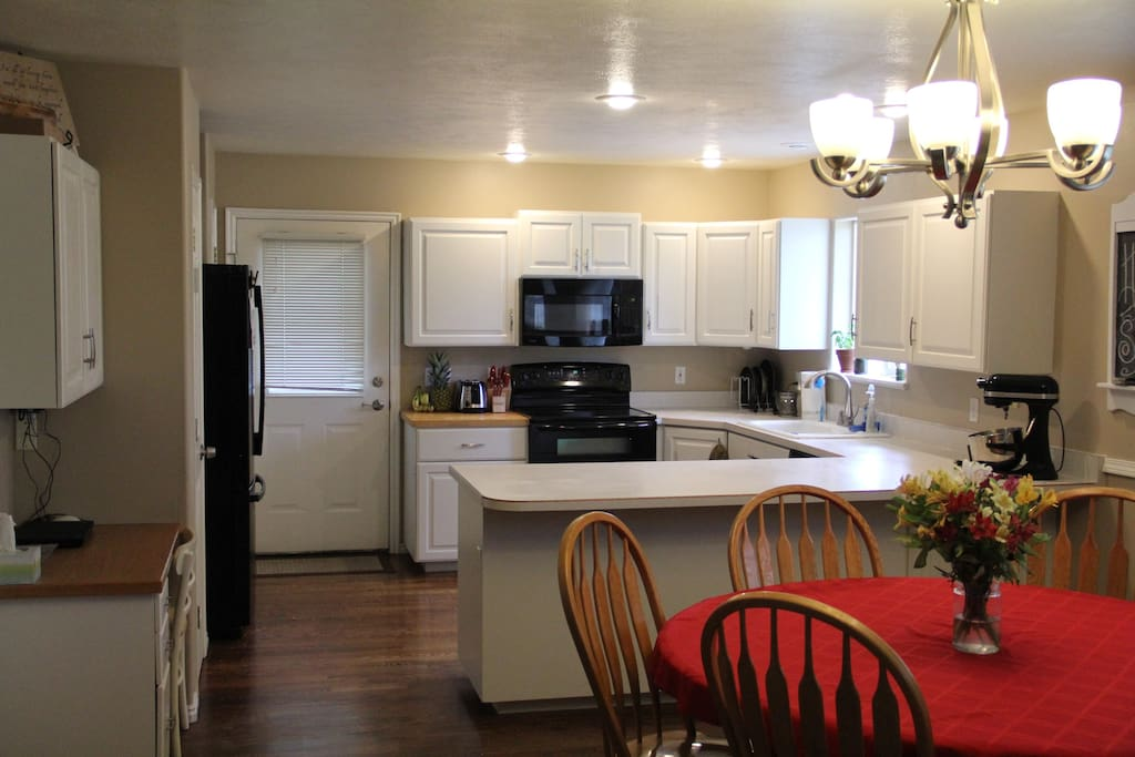 Upstairs kitchen- Shared