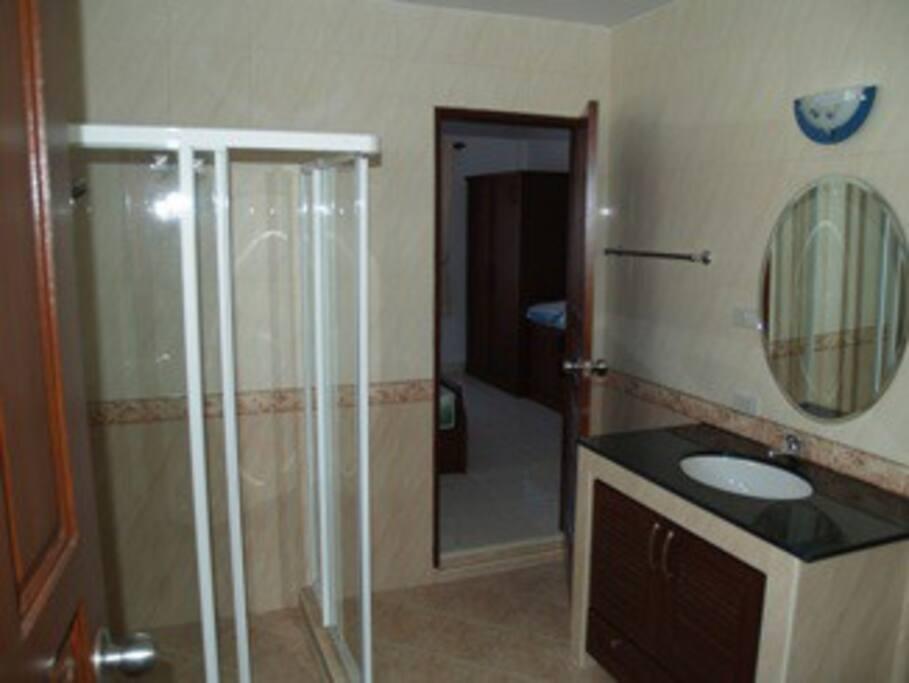 Badeværelse i tilknytning til soveværelse