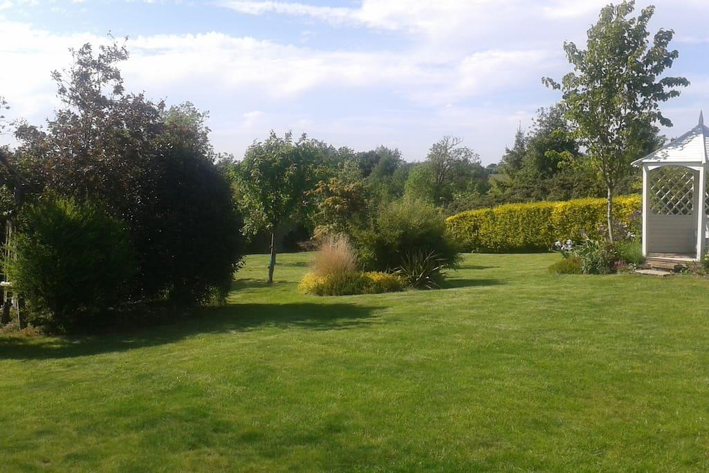 Access to family garden