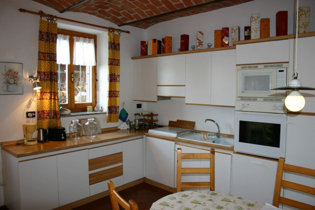 Ca Momplin I - Ground  Floor Kitchen, fully equipped with everything you need to cook great meals