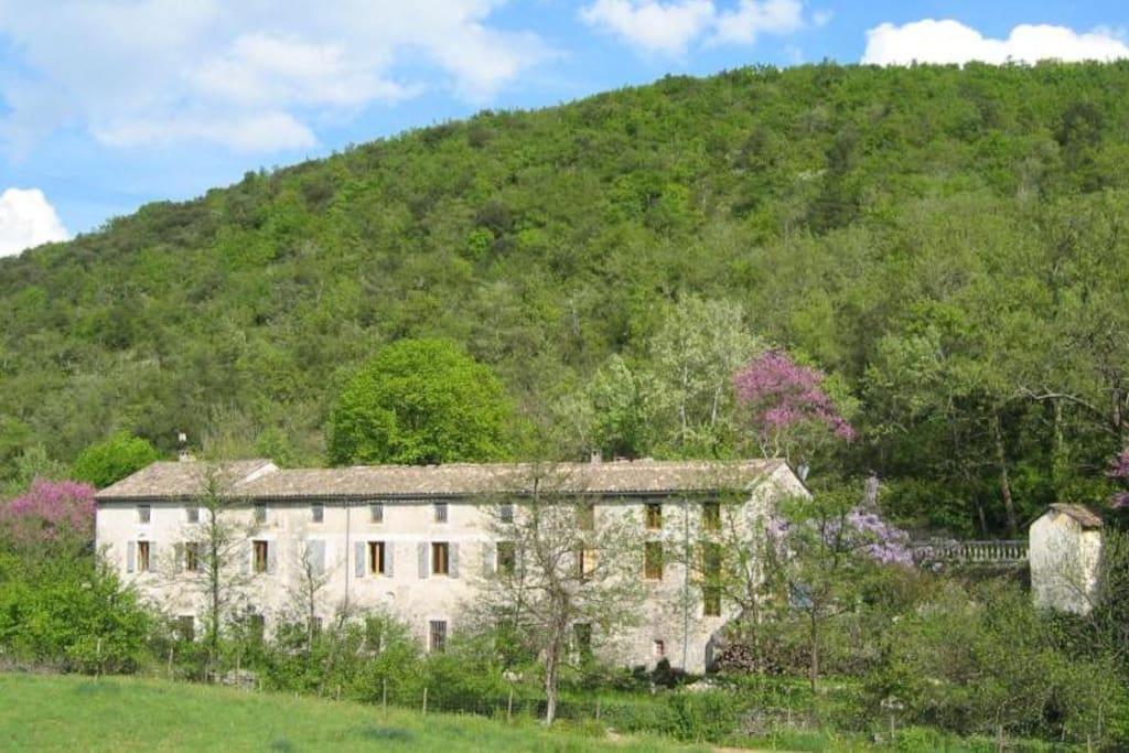 Le Moulinage, chambre d'hôtes de charme en Ardèche à Saint Thomé