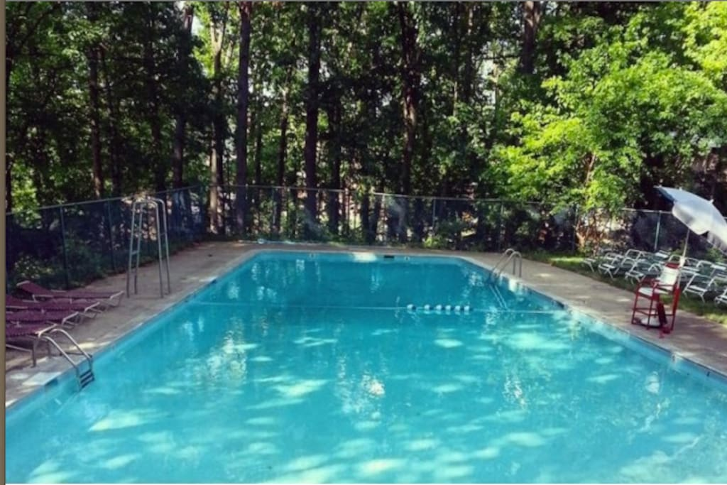 Your pool on hot summer days!