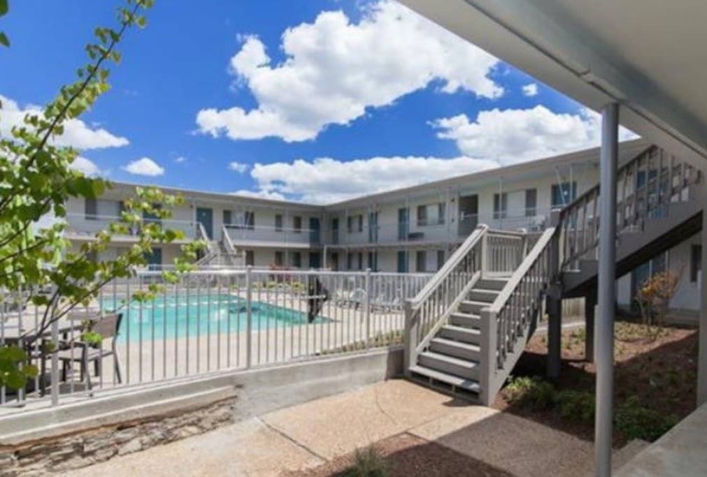 Condo is located in central, desirable Nashville location. Community pool is just the cherry on top of this perfect condo.