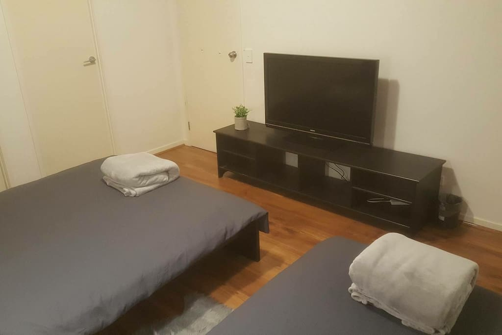 Master room with TV