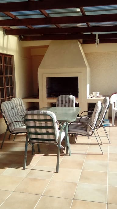 Other access area - Enjoy the barbecue facilities on the patio