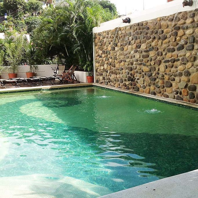 another view of salt water pool
