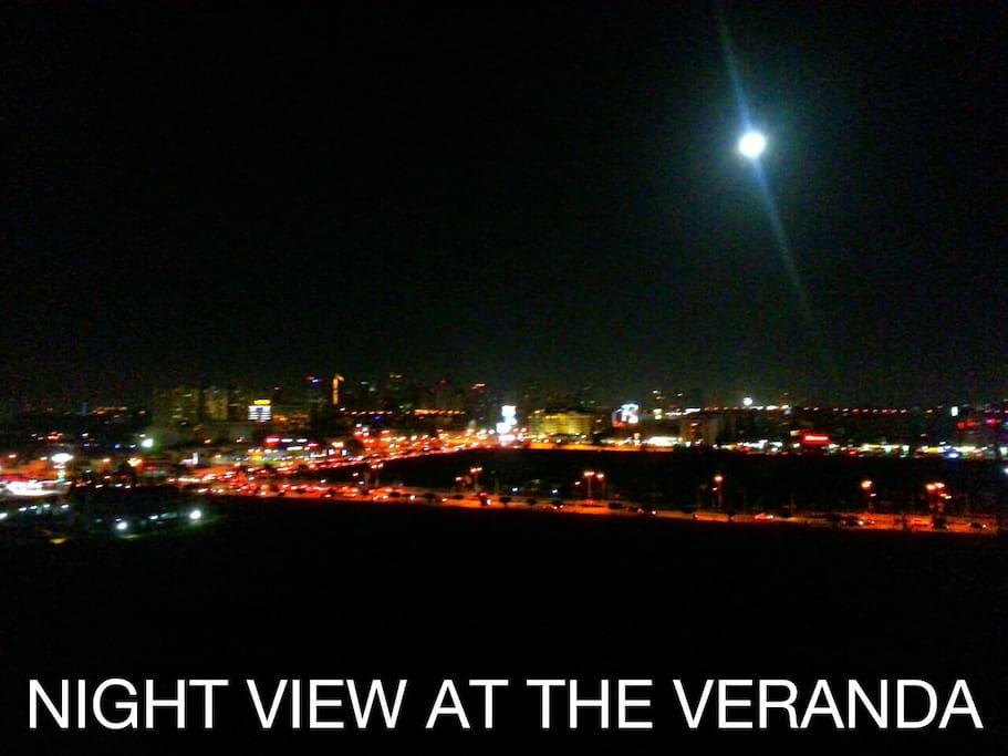 Night View at the Veranda
