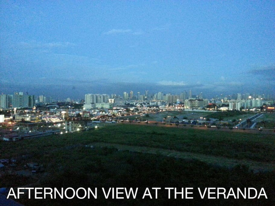 Afternoon View at the Veranda
