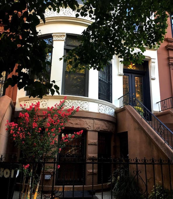 """Your apartment is on the ground floor with its own separate entrance. (I live above.)  """"A perfect gem in one of Brooklyn's best neighborhoods."""" Steven  (Cincinatti, Ohio)"""