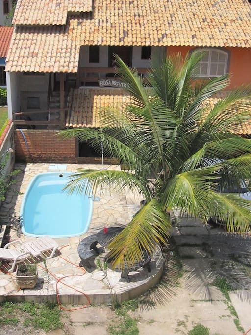 10 suites com piscina