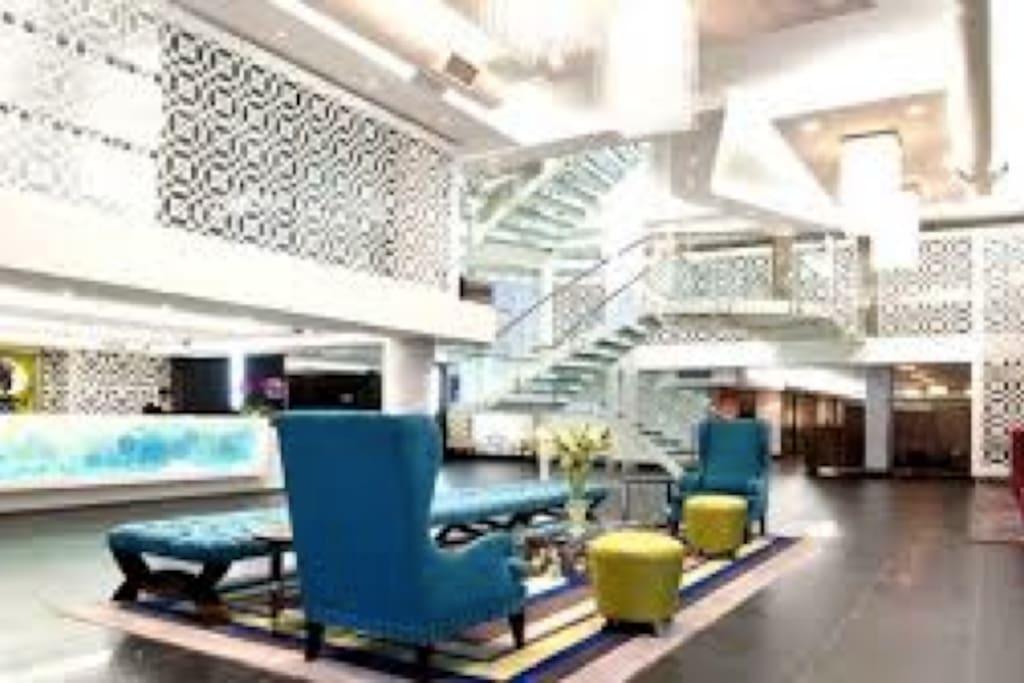 Double Tree Hotel Interior