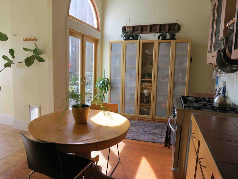Kitchen/french doors