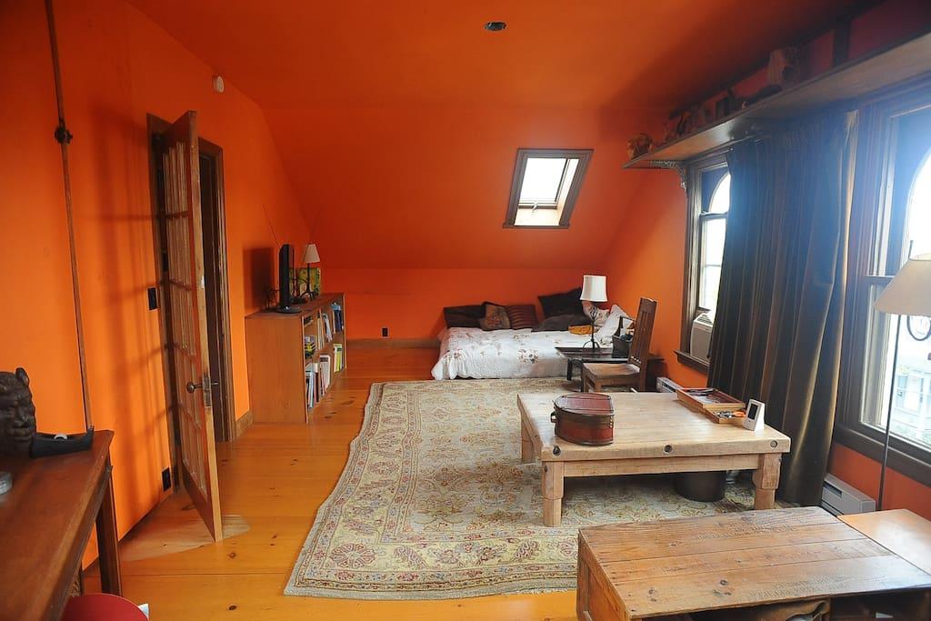 Specious Main Bedroom