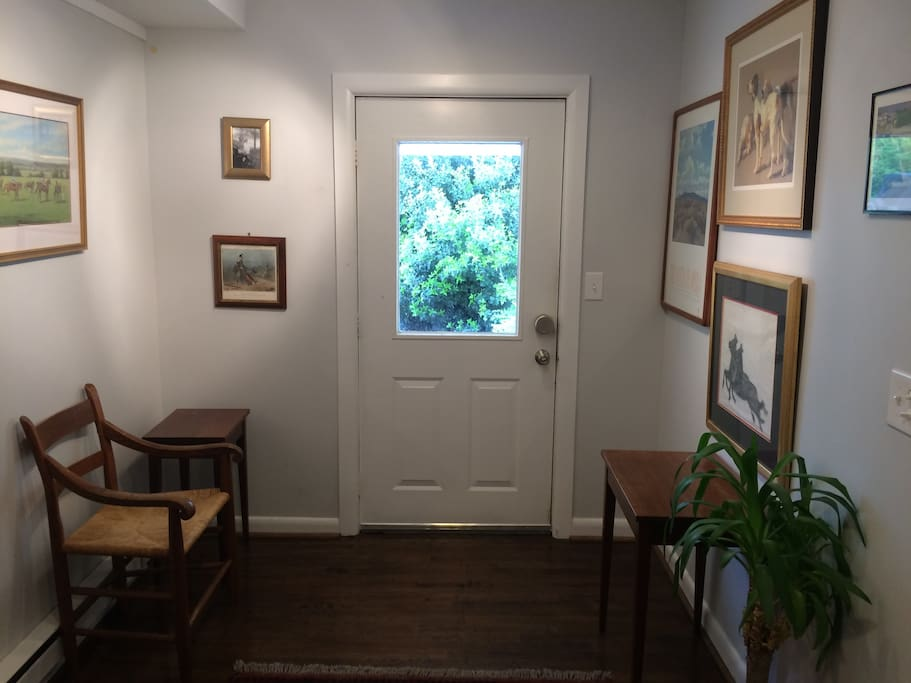 Entry hall (to front door).