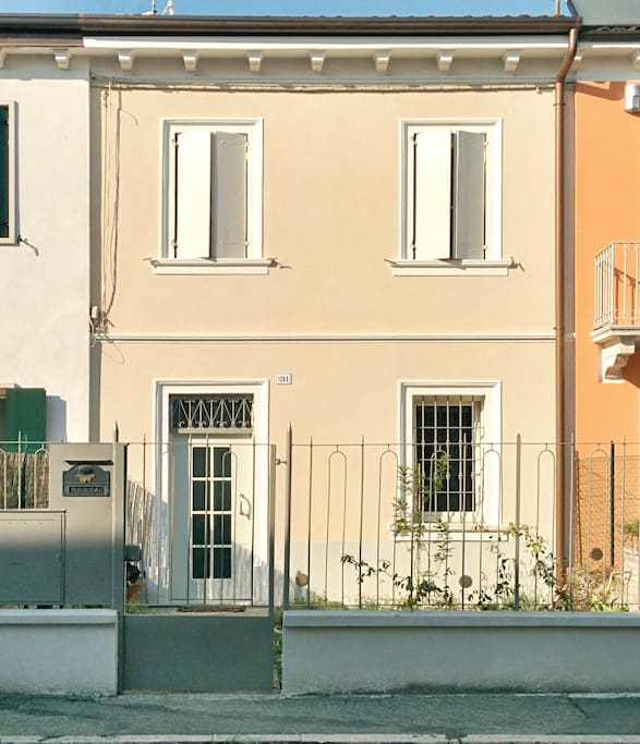 The Façade on Via Salieri