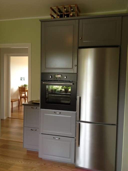 New warm air oven, refrigerator and freezer
