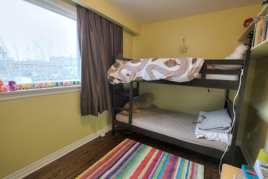 Single bunkbeds