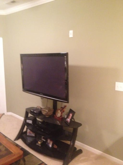 "50"" TV with Cable and DVD Player"