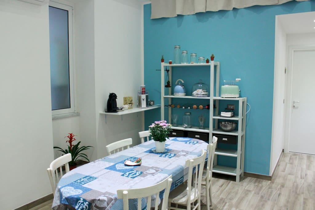 Cucina Sala colazione