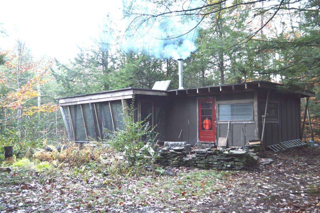 Poetic Creek Cabin, October 2014