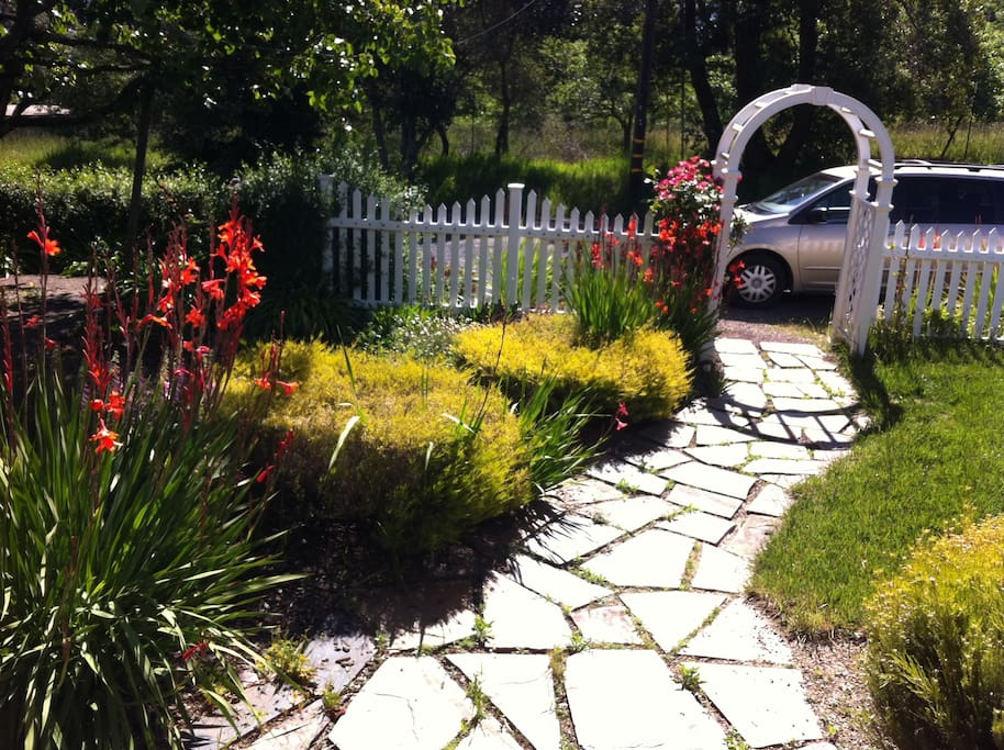 Your path to the front door