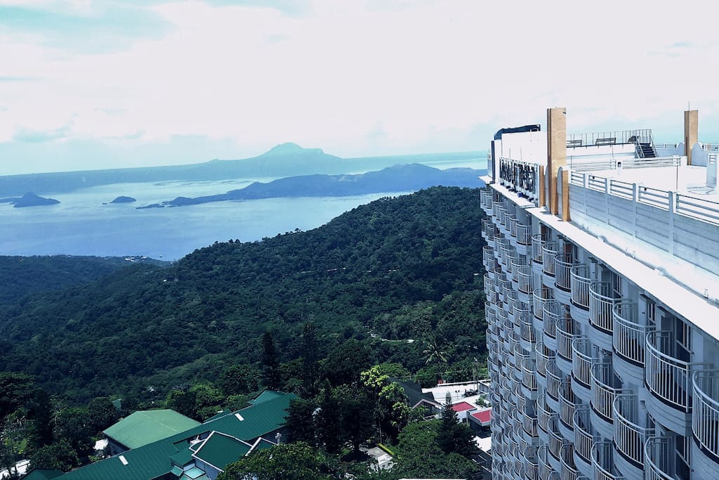 My place is Cityland prime condo & Panoramic Great View of Taal lake