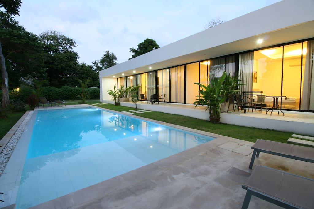 More than a villa