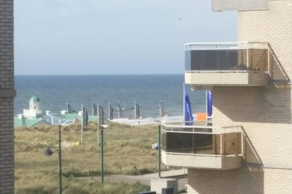 Seaside view terrace