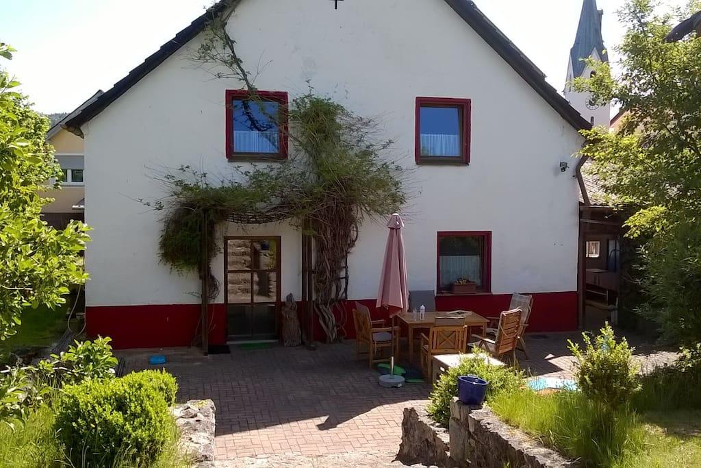 """Das """"Häuschen"""" Dorfstraße 13"""