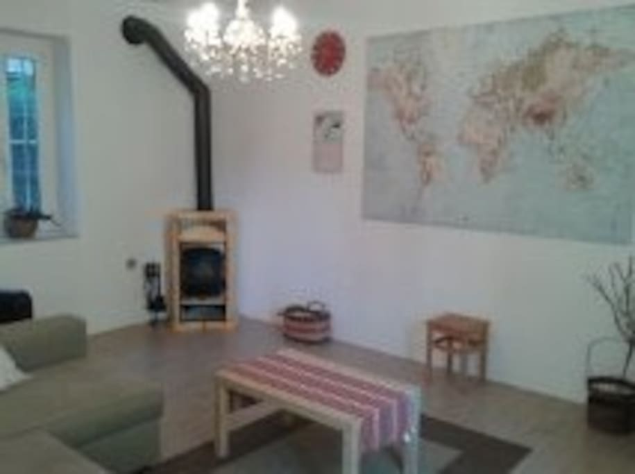 Large spacious downstairs living room.