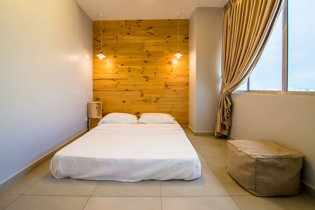 The second room with cozy contemporary design