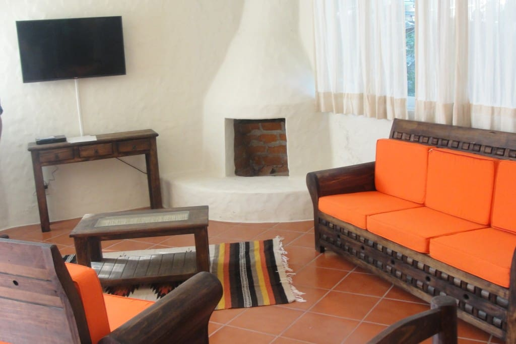 Mexican style living room!