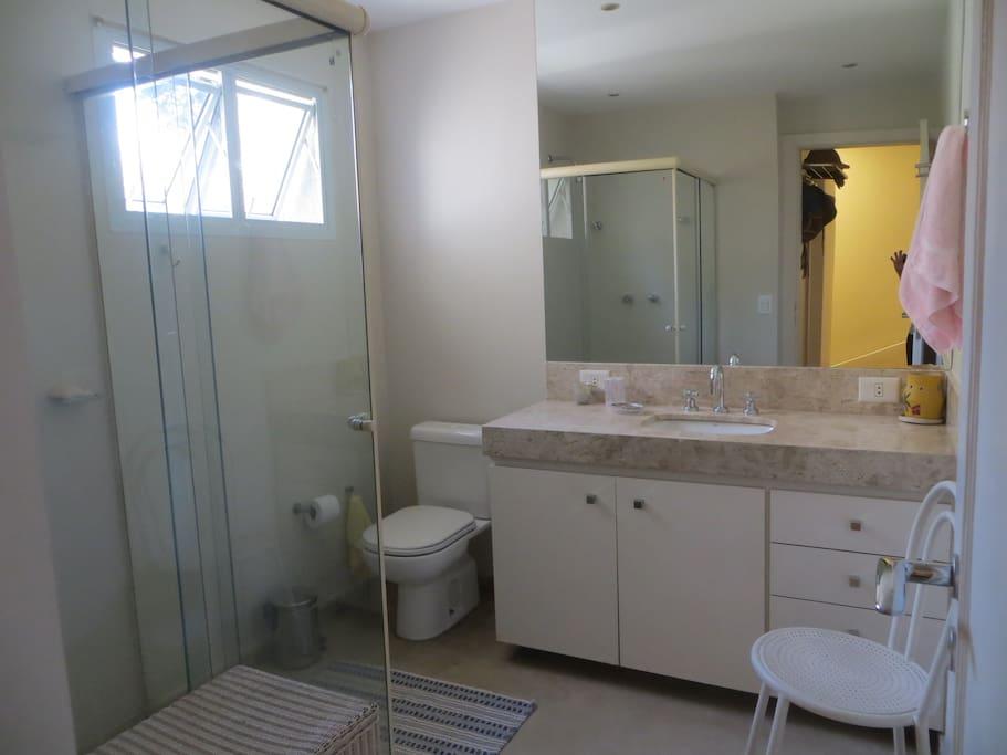 Banheiro de uso exclusivo
