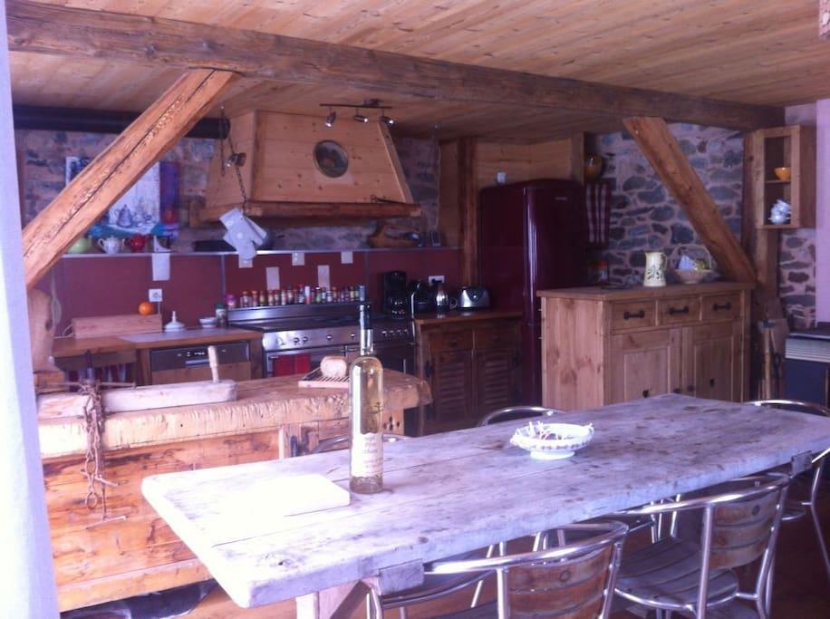 La grande cuisine 30m2 !