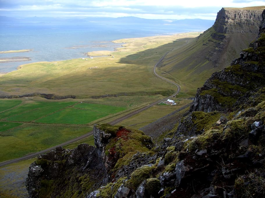 Hike up the mountain above the house - but be sure to have really good hiking shoes, there is only the sheep path...