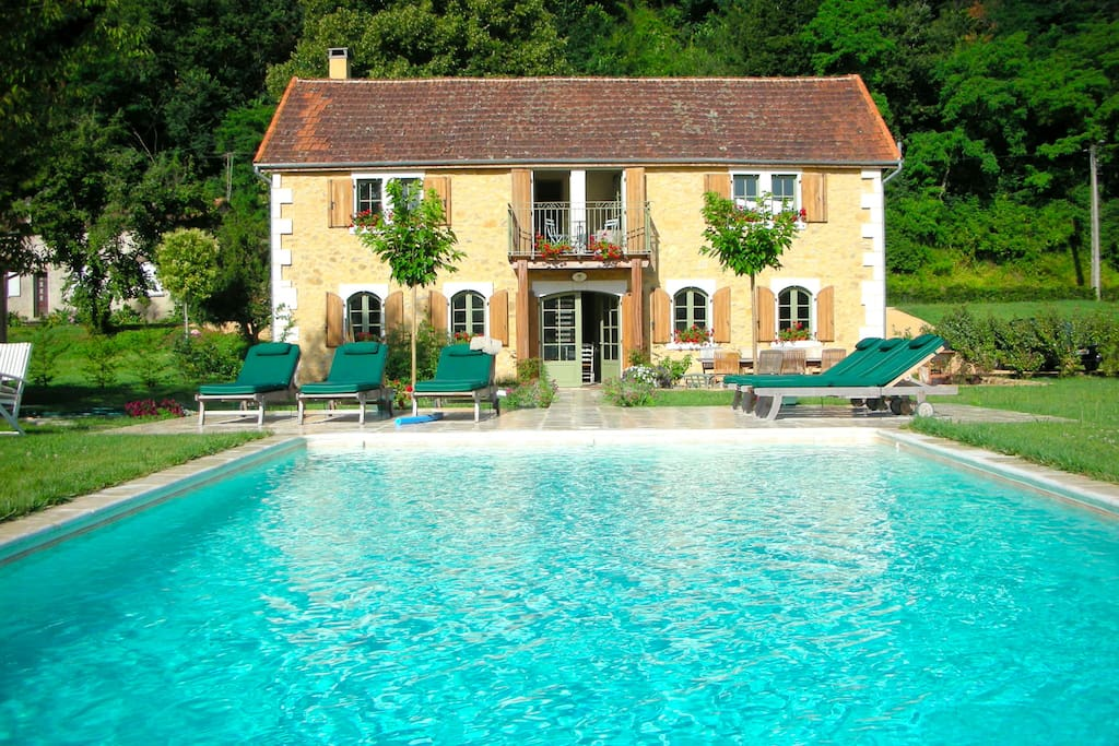 """Le Chabrol"" - ranked #12 of ""Top 50 Holiday Villas in Spain, France and Portugal"" UK Sunday Times, 2010"