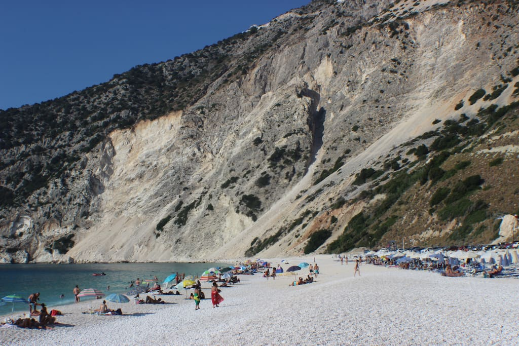 Mirtos Beach. World famous, wins best beach every year