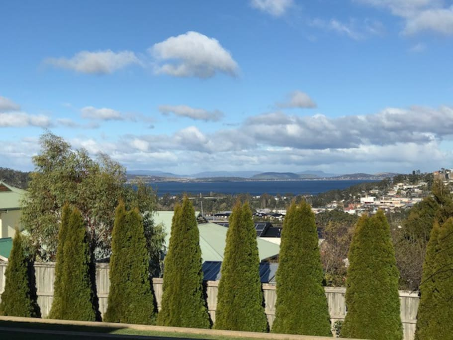 View of Derwent river from Balcony