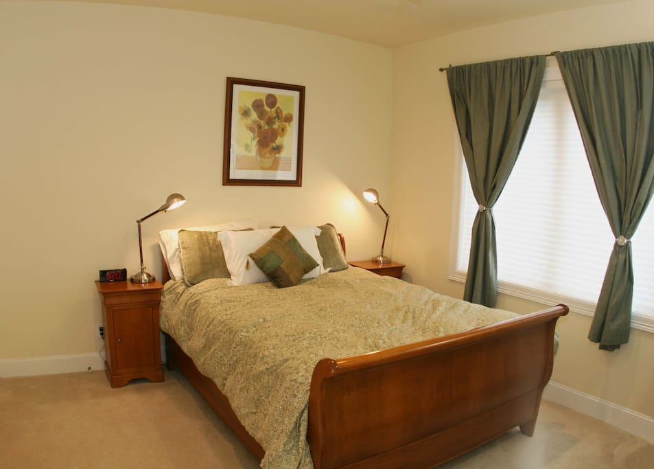 Peaceful Sleigh Bed