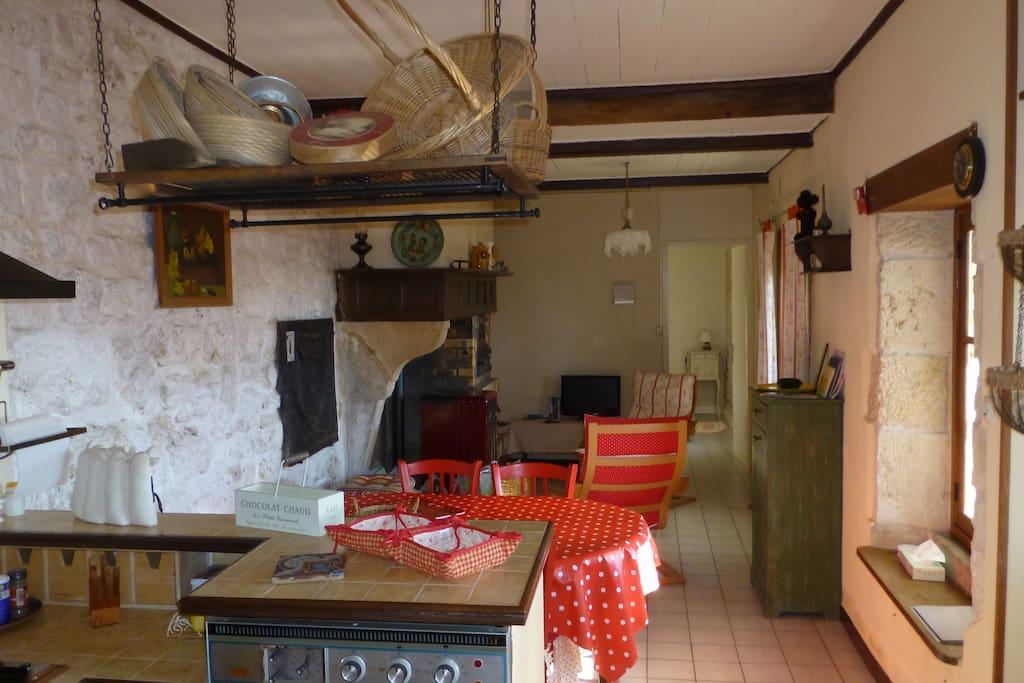 cuisine et salon