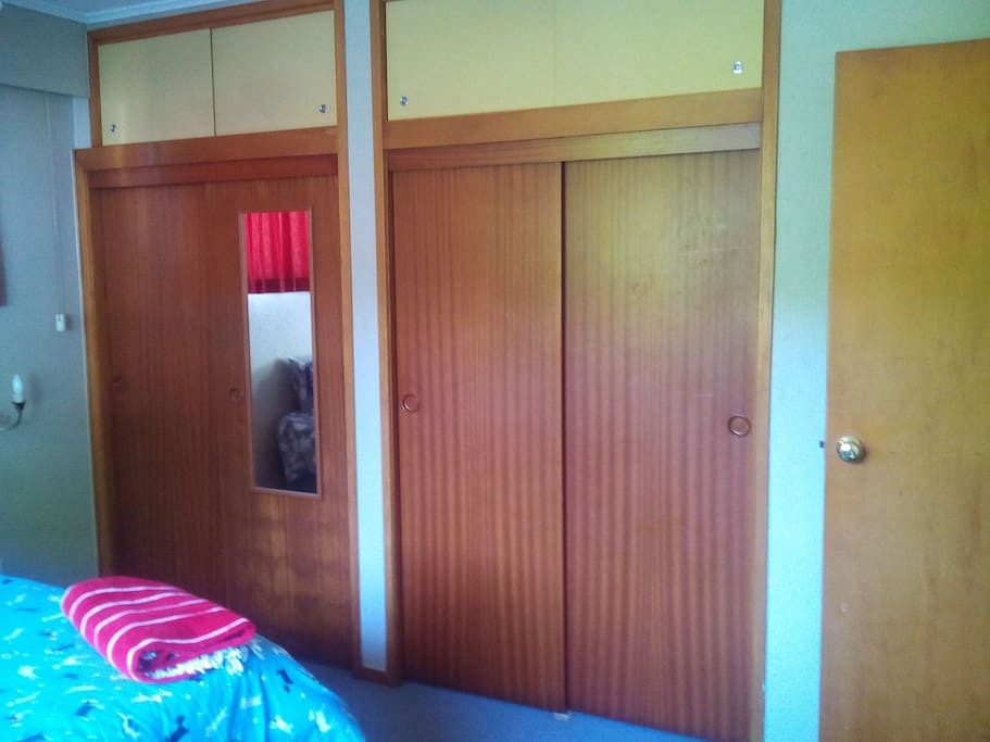 Double bedroom with lots of cupboard space