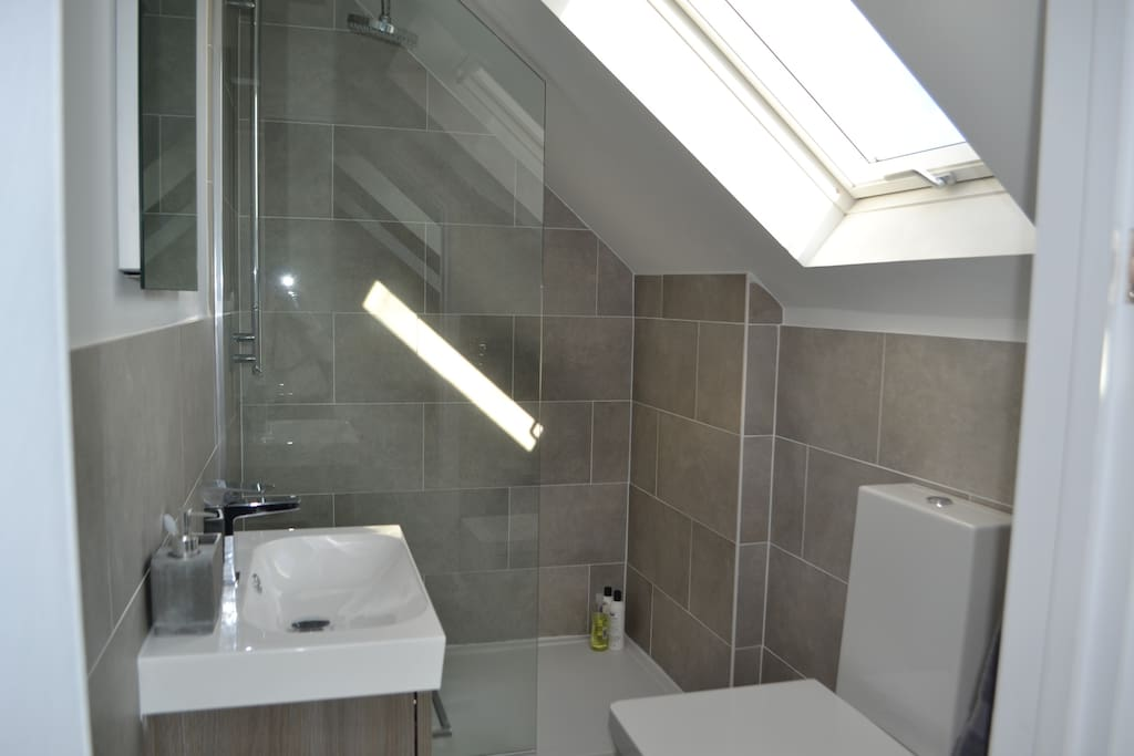 En Suite Bathroom with walk in shower
