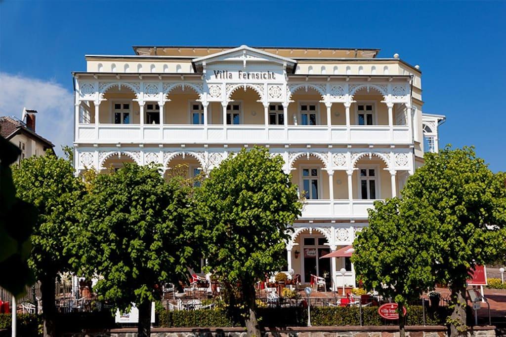 Villa Fernsicht im Ostseebad Sellin