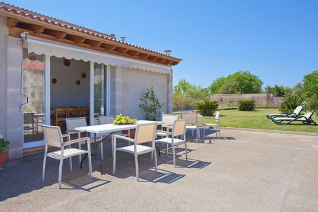 Gartenhaus mit extra Küche