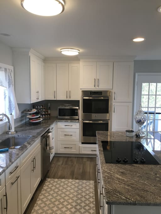 Main Kitchen with all the amenities